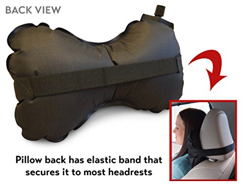 Aircomfy Inflatable Travel Pillow For Cervical Neck