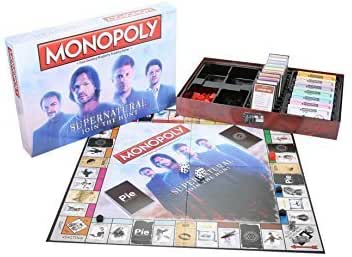 USAopoly Monopoly Supernatural Join The Hunt Board Game by: Amazon.es: Juguetes y juegos