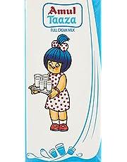 Amul Taaza UHT Milk, 1L (Pack of 12)