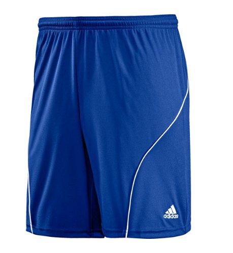 adidas Men's Striker Short, Cobalt, White, X-Large