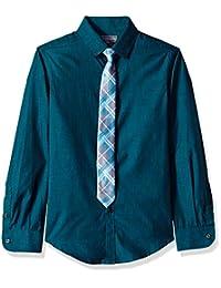 Van Heusen Big Boys' Shirt and Tie Set