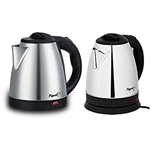 Pigeon By stovekraft Amaze Plus 1.5 Litre Electric kettle, Black & 12466 1.5-Litre Electric Kettle (Multicolour) Combo