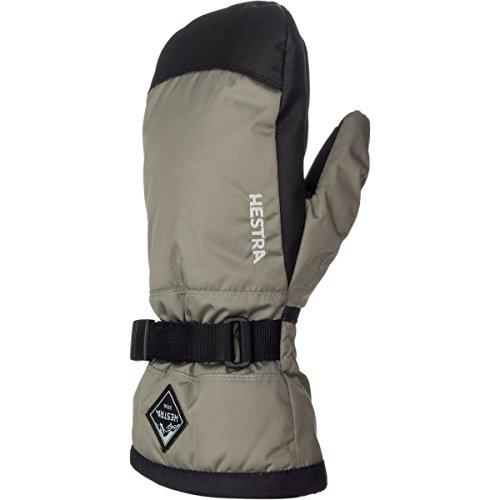 (Hestra Gloves 32531 Jr. Gauntlet CZone Mitt, Dust/Black - 6)