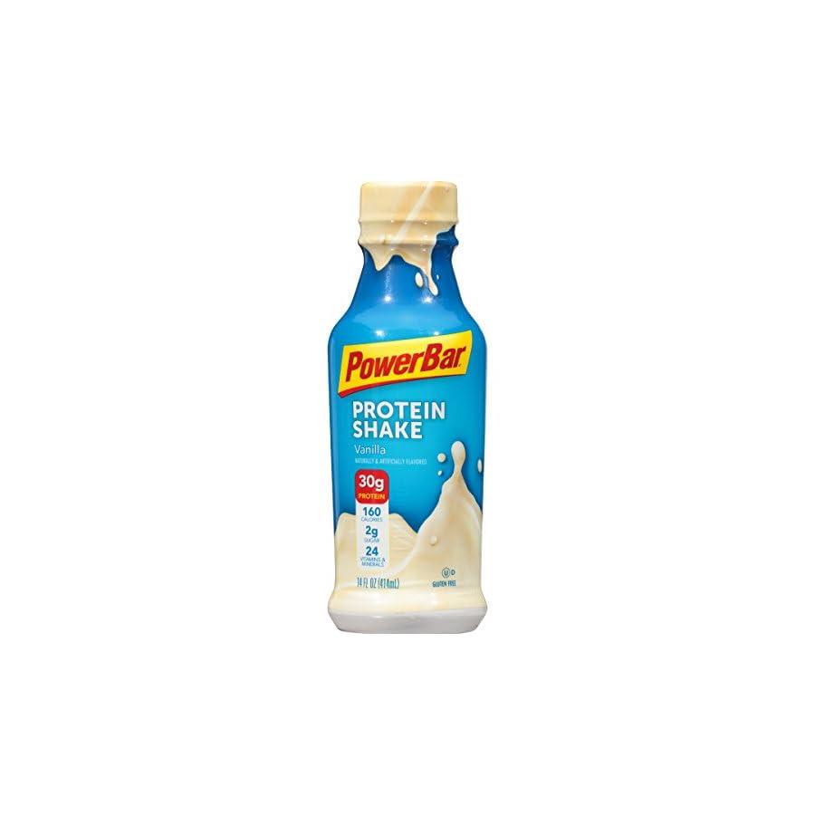 PowerBar 30g Protein Shake, 14 fl oz Bottle, (12 Count)