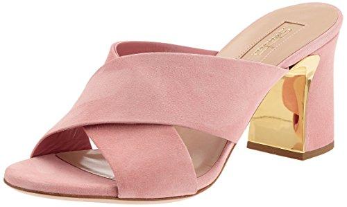 Sebastian Professional S7281cam.aza, Women's Wedge Heels Sandals Pink (Rosa)