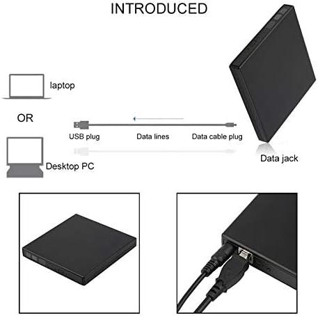 USB 2.0 External CD/±RW DVD/±RW DVD-RAM Burner Drive Writer for Laptop PC Rodalind