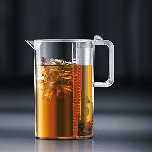 Bodum Ceylon Ice Tea Jug with Filter, 3.0 Liter, 101 Ounce, Clear by Bodum (Image #4)