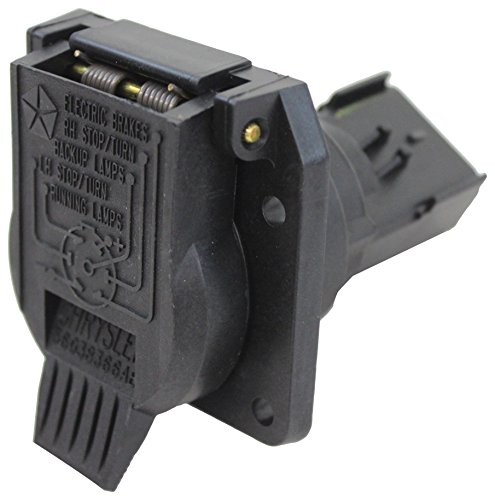 - Genuine Chrysler 56038366AB 7-Way Trailer Connector