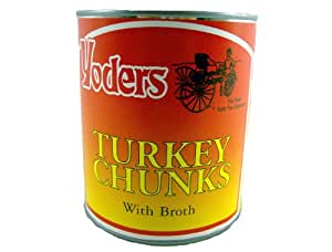 Yoders Canned Turkey 28oz