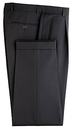 Completo giacca e pantaloni/cameriere quedane gentle Line, vita piega, Nero