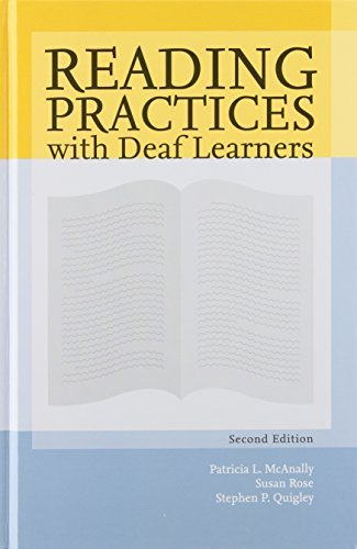 Download By Patricia L. McAnally Reading Practices With Deaf Learners (2nd Edition) pdf
