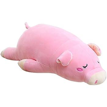 Amazon Com Lazada Pig Plush Stuffed Piggy Super Soft Throw Pillows