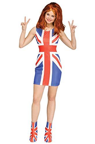 Fun World Union Jack Glam Girl Adult