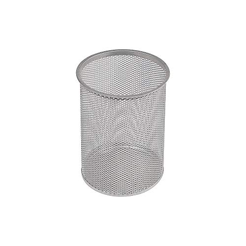 (Staples 385753 Jumbo Pencil Cup Silver Wire Mesh (11966))