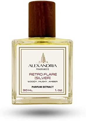 Retro Flare (Silver) Parfum Extract 30ML by Alexandria Fragrances