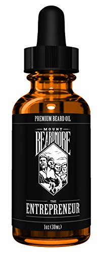 Beard Oil by MOUNT BEARDMORE™, Premium Beard Oil, Packed With 100% All Natural Nutrient Rich Oils and Scented With Essential Oils, Aptly Named 'THE ENTREPRENEUR' Every Drop Smells Like Accomplishment