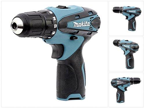 Makita DF 330 10,8 V Li-Ion Akku Bohr Schrauber blau Solo - nur das Gerät ohne Zubehör