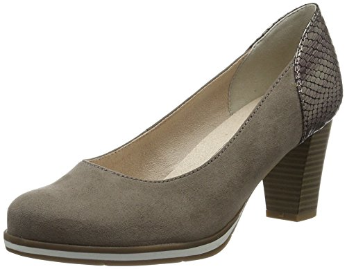Softline Women's 22462 Closed Toe Heels Beige (Lt. Taupe 347) HLdcY