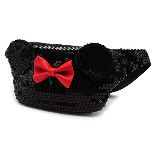 Loungefly Minnie Mouse Sequin Mini Fanny Pack, Medium