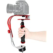 ASHANKS Pro Video Camera Handheld Stabilizer Steady cam for Gopro, DV, SLR, Canon, Nikon, iPhone,Digital Camera Camcorde or any DSLR Camera Up to 1.5 lbs
