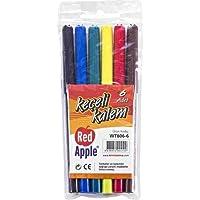 Red Apple Keçeli Kalem 6'lı