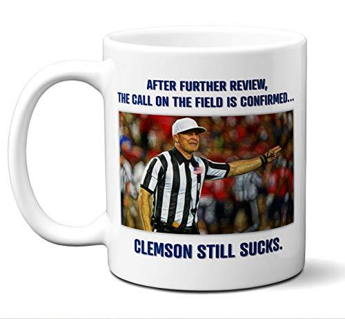 Clemson Tigers Suck Coffee Mug, Cup.