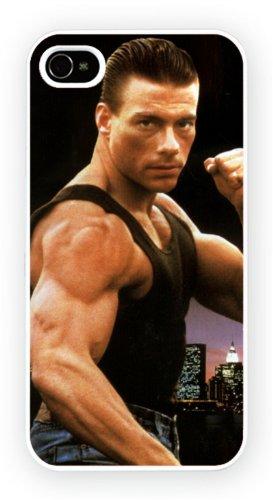 Jean Claude Van Damme A Iconic Male Moviestars iPhone, iPhone 4 4S, Etui de téléphone mobile - encre brillant impression
