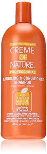 Creme of Nature Detangling Conditioning Shampoo for Normal Hair, Sunflower and Coconut, 32 Ounce by Creme of Nature