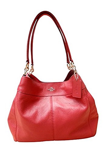 Coach Pebbled Leather Lexy Shoulderbag, True Red by Coach