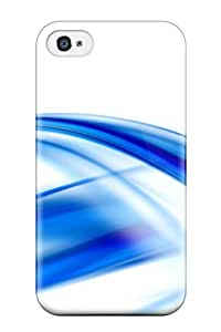 High-quality Durability Case For Iphone 4/4s(abstract Blue ) by icecream design