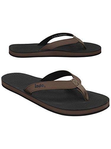 Flip Flops Essntls Black Soil Indosole Top wZq4Szgx
