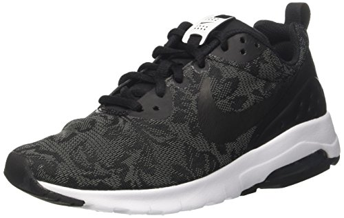 NIKE Women's Air Max Motion Lw Running Shoe Black/Black
