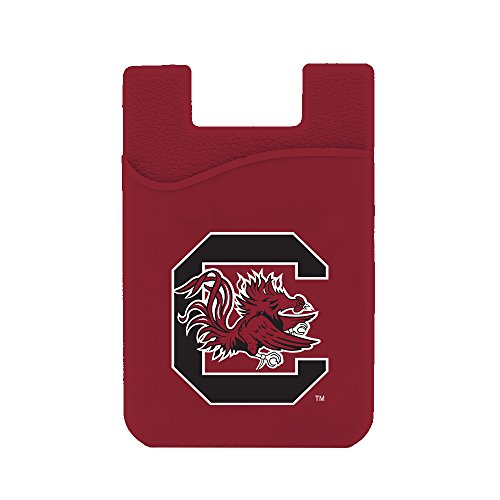 (Guard Dog Card Keeper/Card Holder Silicone Phone Wallet (South Carolina Gamecocks))