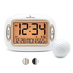 CL030051WH Atomic Alarm Clock