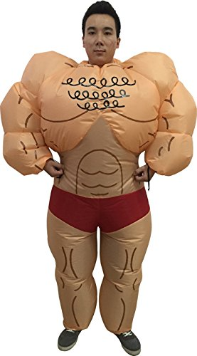 Suit Costumes Ideas (Kacm Adult Muscle Man Popeye the Sailor Man Inflatable Suits Halloween Costume)