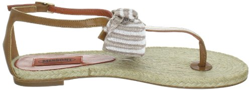 Missoni Women's INFRADITO CON NASTRO SOTT.CORDA Open Toe Sandals Beige (Cuoio) QGqpwSS9Aw