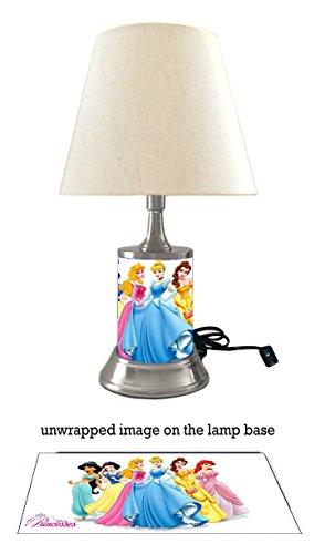 Disney Princess Lamp with Shade, 6