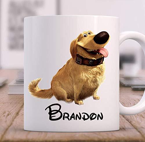 Funny Mug Coffee Mug, Dug From Up, big coffee mugs, cute mugs, mugs, coffee, unique coffee mugs, funny coffee, disney, custom coffee mug, personalized