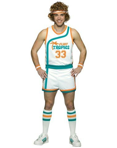 Rasta Imposta Semi Pro Uniform Costume, Multi-Colored, One Size (Jackie Moon Halloween Costume)