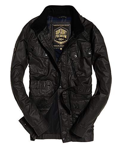 Superdry Mens SD Endurance Lite Jacket Black Olive XXL