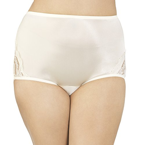 Vanity Fair Women's Perfectly Yours Lace Nouveau Brief Panty 13001, Candleglow, Small/5