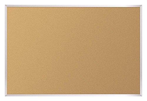 Natural Add - Cork Tackboard w Aluminum Trim (12 ft. W x 4 ft. H (96 lbs.))