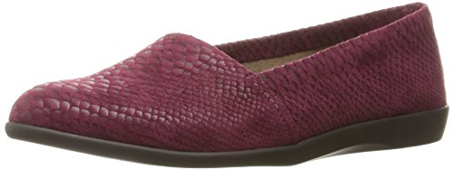 Aerosoles Damen Trend Setter Slip-On Loafer Wein Schlange