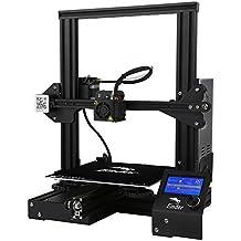 Comgrow Creality Ender 3 3D Printer Aluminum Prusa i3 DIY with Resume Print 220x220x250mm