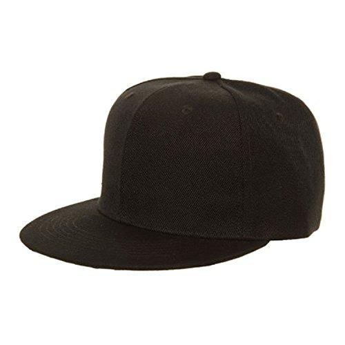 Casquette Noir Homme Baseball Size Most One Fits 7x De FwRxFd