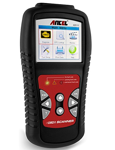 ANCEL AD510 Scanner Diagnostic Battery product image