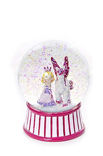 Mousehouse Gifts Cute Girls Snow Globe with Princess and Unicorn