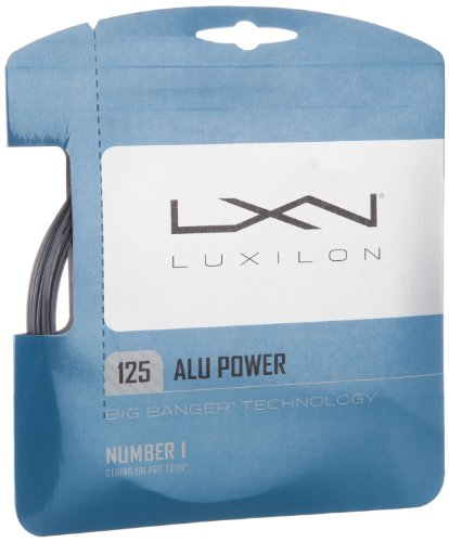 Luxilion ALU Power 125 Tennis Racquet String Set (16L Gauge, 1.25 - Strings Tennis