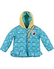 Dreamwave Girls' Authentic Character Winter Puffer Jacket with Hood
