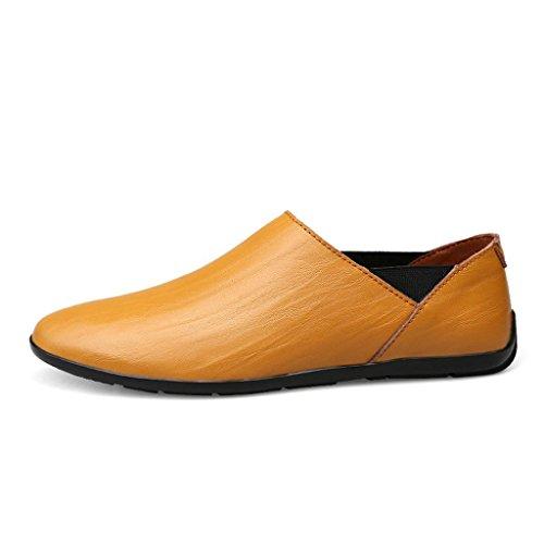 Vestir de Zapatos Libre Zapatos al Aire Casuales Trabajo de Yellow Hombre Zapatos M Marea Zapatos de Zapatos Zapatos de amp;M qwPfx0n1